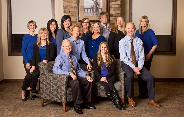Ames Family Dental team picture