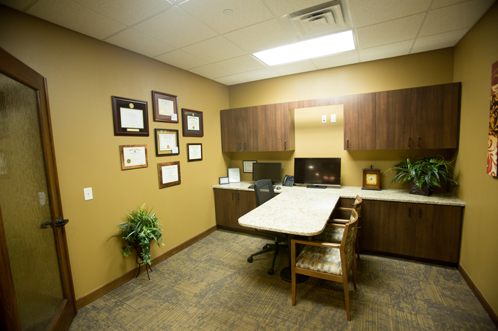 Private consultation room