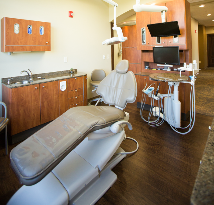 State-of-the-art treatment rooms